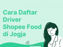 cara daftar driver shopee food jogja
